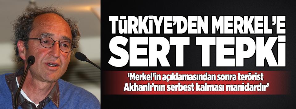 Türkiyeden Merkele sert yanıt