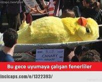 Fenerbahçe elendi! Capsler patladı