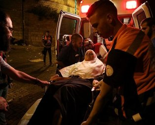 Katil İsrail polisinden alçak saldırı