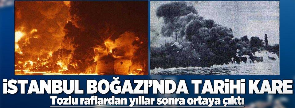 İstanbul Boğazında tarihi kare