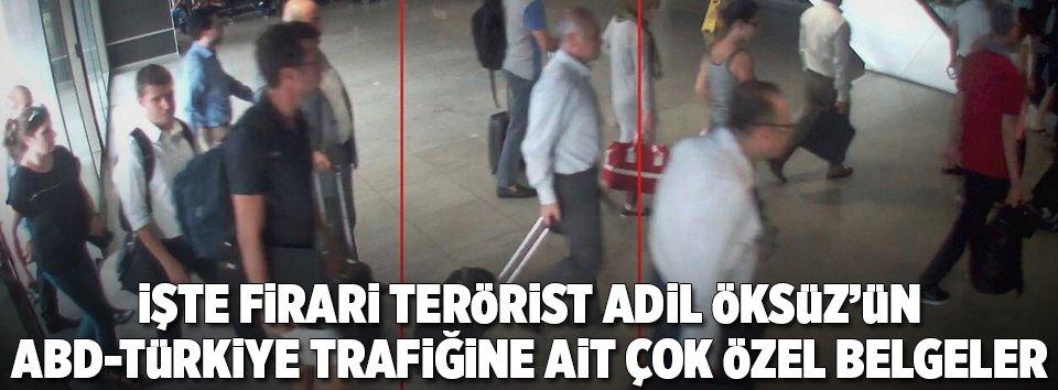FETÖcü Adil Öksüzün ABD-Türkiye trafiği