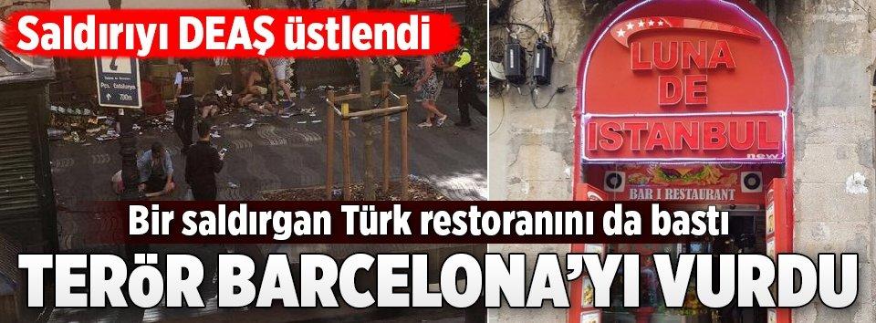 Barcelonada üst üste saldırılar
