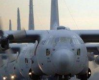 ABDnin askeri uçağı düşürüldü