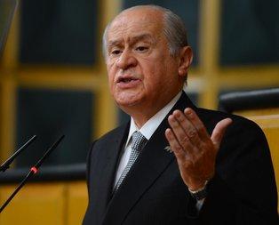 Bahçeliden anayasa teklifi açıklaması