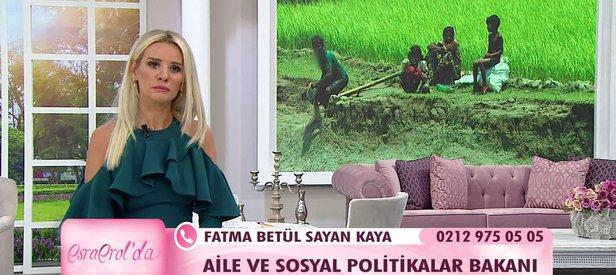 Bakan Kaya Arakan dramını ATVde anlattı