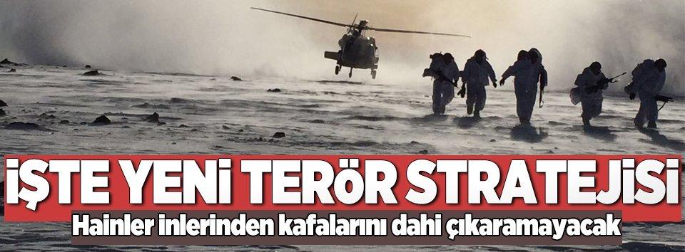 Hükümetten terörü bitirecek yeni strateji