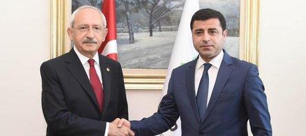 CHP-HDP ittifak flörtü