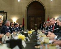 Ürdün Kralı 2. Abdullahtan Cumhurbaşkanı Erdoğana teşekkür