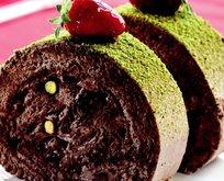 Çikolatalı Fıstıklı Rulo Pasta Tarifi