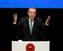 Erdoğan: Bunlarda numara, yalan, dolan çok