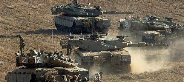 İsrail ordusu, Suriyeyi vurdu