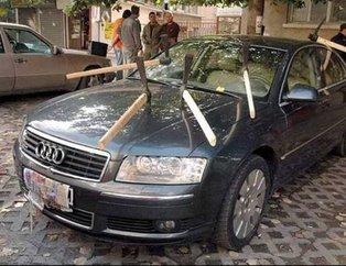Yanlış yere park etmenin acı sonu