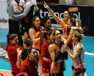 Galatasaray, CEV Cupta çeyrek finale yükseldi