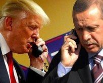 Erdoğan ve Trump görüşmesinin detayları belli oldu