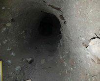 Nusaybinde tünel bulundu