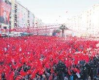 Güçlü ve huzurlu Türkiye'ye EVET