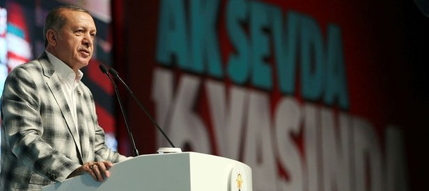 Erdoğandan teşkilatlara FETÖ mesajı