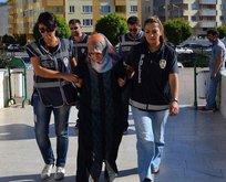 Gülenin ilçe ablası yeğeni tutuklandı