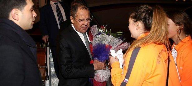 Rusya Dışişleri Bakanı Türkiyeye geldi