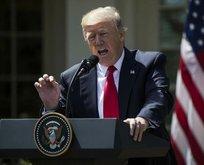 Trump'tan askeri müdahale mesajı