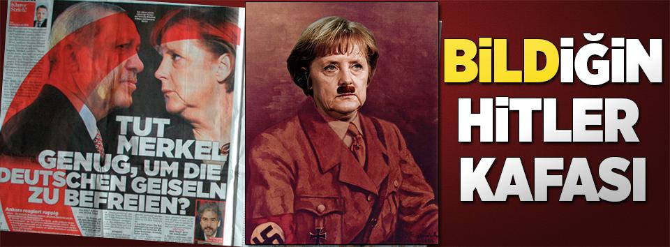 Almanya ilişkileri geriyor, Nazi kafası hortladı