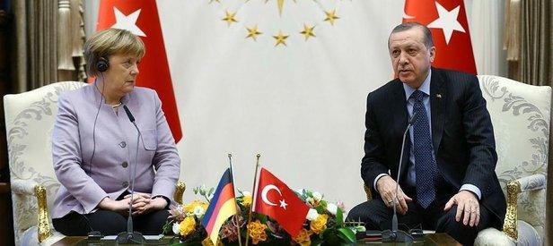 Cumhurbaşkanı Erdoğan'dan Merkel'in 'İslamist terör' ifadesine sert tepki