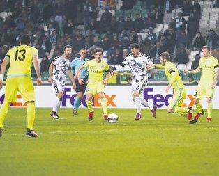 Konyaspor Avrupa Ligi'ne yenilgiyle veda etti