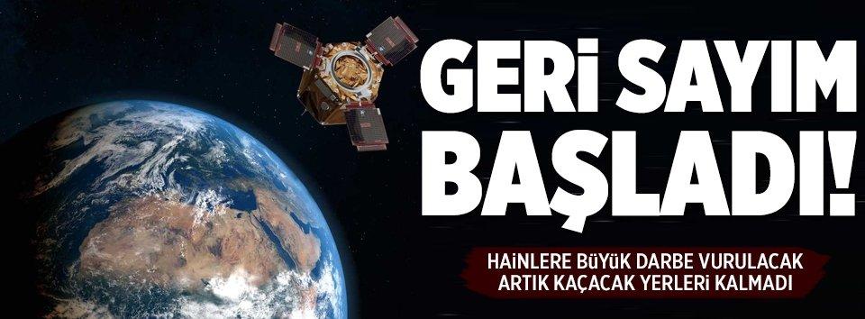 Göktürk-1 uydusu için geri sayım başladı