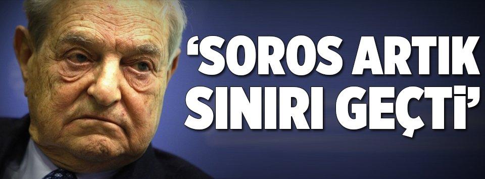 George Soros artık sınırı geçti