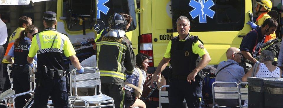 Barcelonada terör saldırısı
