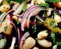 Kurufasülye Salatası Tarifi