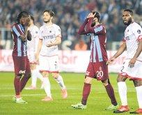 Trabzonspor'da beraberlik üzüntüsü yaşanıyor