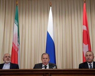 Türkiye, Rusya ve İran Moskova'da buluştu