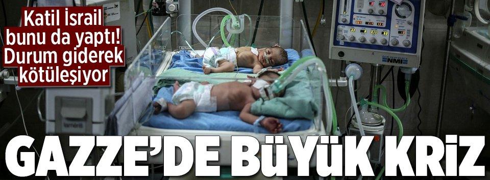 Gazzede durum giderek kötüleşiyor