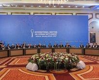 Astanadaki toplantıdan ortak karar çıktı