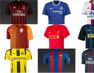İşte Avrupa'da forması en çok satılan takım