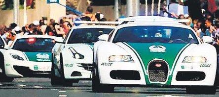 Dubai polisi gazladı