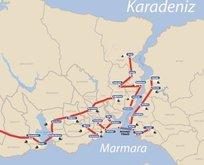 İstanbula 145 kilometrelik tünel