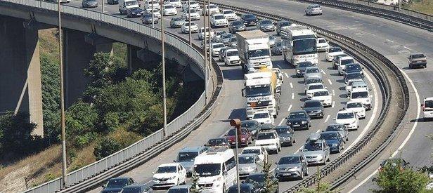 Bayram dönüşü trafik durumu nedir?