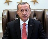 Cumhurbaşkanı Erdoğandan Sezgin için taziye mesajı