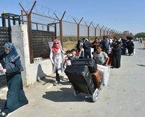 Dört günde 10 bin Suriyeli ülkelerine geçiş yaptı
