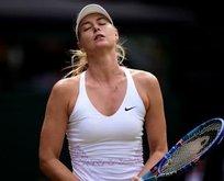 Sharapova'ya kötü haber