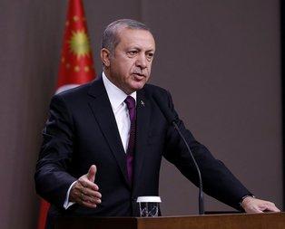 Erdoğandan dünyaya Suriye mesajı