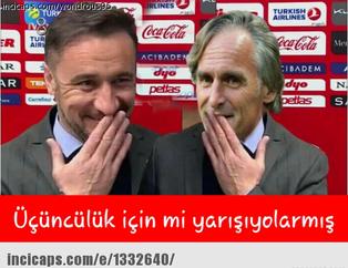 Galatasaray - Fenerbahçe maçı capsleri