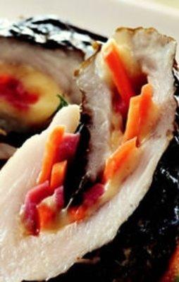 Asma Yaprağında Sebzeli Dil Balığı Tarifi