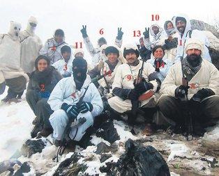 Bu fotoğraftaki 15 terörist öldürüldü