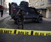 Esenyurtta polise ateş açıldı