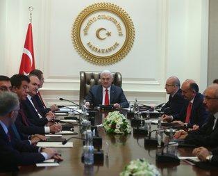 Başbakan ekonomi önlem paketini açıkladı