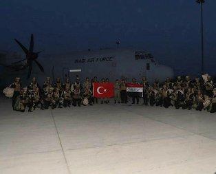 TSKnın tatbikatlarına Irak Kuvvetleri de katıldı