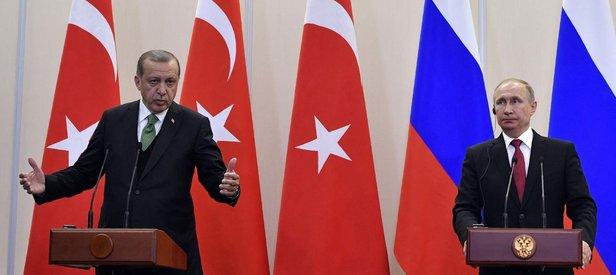 Erdoğan ve Putin ortak basın toplantısında